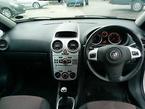 2007 VAUXHALL CORSA SXI A/C SILVER image 6