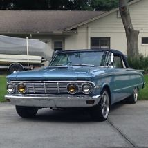 1963 Mercury Comet Convertible 351W V8 Tremec 5spd Cruiser Hot Rod Classic Ford! image 1