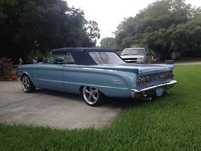 1963 Mercury Comet Convertible 351W V8 Tremec 5spd Cruiser Hot Rod Classic Ford! image 2