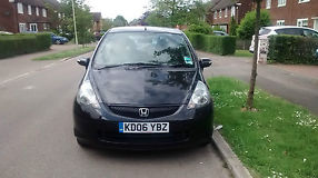 2006 HONDA JAZZ BLACK, FULL SERVICE HISTORY, ONE FEMALE DRIVER image 4