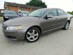 2007 (57) VOLVO S80 SE LUX D5 SALOON DIESEL, TAXED AND MOT FULL SERVICE HISTORY
