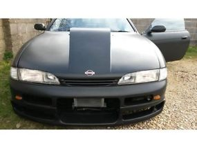 Nissan 200sx V8 chevy small block 5.7ltr drift car, track car hot rod image 3
