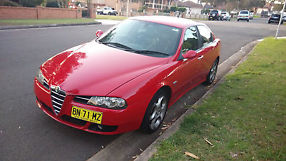 Alfa Romeo 156 JTS 2.0 Selespeed 2005 90K Red