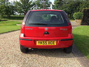 2005 (55) VAUXHALL CORSA LIFE TWINPORT RED image 5