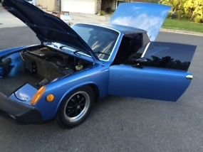 Porsche 914 Rare Anocan Blue 1976 last year low production