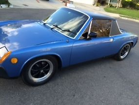 Porsche 914 Rare Anocan Blue 1976 last year low production image 2