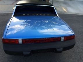 Porsche 914 Rare Anocan Blue 1976 last year low production image 4