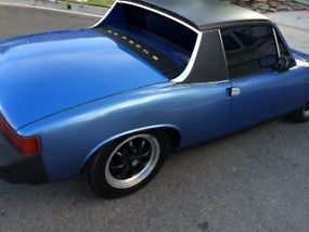 Porsche 914 Rare Anocan Blue 1976 last year low production image 5