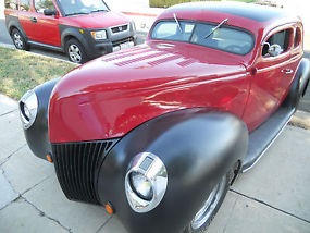 1939 Ford coupe all steel chopped hot rod Nice driver image 6
