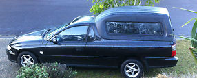Holden Commodore VU Ute Factory BlackWith Safety Certificate /RWC/REGO image 1