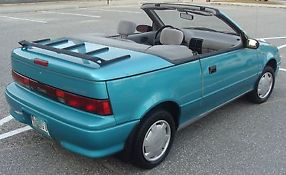 1993  Metro LSi Convertible 2-Door 1.0L- Automatic - Only 107k Miles