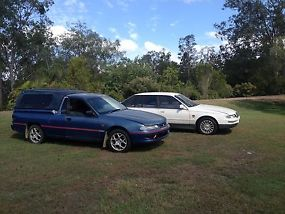 VR UTE 1995 and VS Statesman 1996