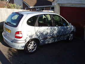 2002 RENAULT MEGANE SCENIC DYNAM+ DCI SILVER