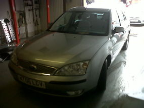 2006 FORD MONDEO ZETEC TDCI 130 2.0DIESEL SILVER