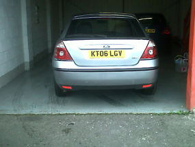 2006 FORD MONDEO ZETEC TDCI 130 2.0DIESEL SILVER image 2