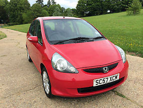2008 HONDA JAZZ 1.4 i DSi SE 5 DOOR RED COLOUR image 1
