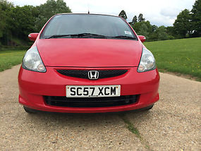 2008 HONDA JAZZ 1.4 i DSi SE 5 DOOR RED COLOUR image 2