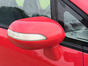 2008 HONDA JAZZ 1.4 i DSi SE 5 DOOR RED COLOUR image 3