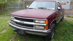 1994 GMC K2500 Ext Cab 4x4 Auto V8 PLEASE SEE PICS And READ DESCRIPTION image 5
