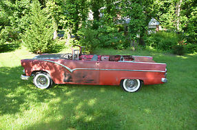 1955 Ford Sunliner Convertible Restore or Restomod Runs and Drives image 1