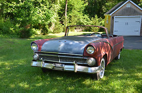 1955 Ford Sunliner Convertible Restore or Restomod Runs and Drives image 2
