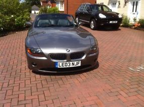 2003 GREY BMW Z4 CONVERTIBLE 2.5i image 1