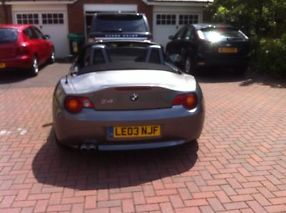 2003 GREY BMW Z4 CONVERTIBLE 2.5i image 3