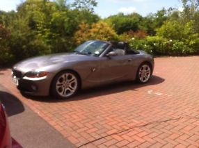 2003 GREY BMW Z4 CONVERTIBLE 2.5i image 4