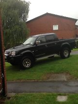 2004 MITSUBISHI L200 WARRIOR LWB BLACK