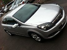 2006 VAUXHALL ASTRA SXI SILVER