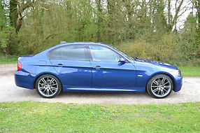 2007 BMW 320D M SPORT saloon - heated leather, xenons, 18