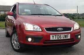 2006 FORD FOCUS GHIA 1.6TDCI 90.000 MILES EXCELENT CONDITION 12 MONTHS TAX!!! image 3