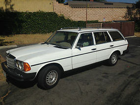 1982 Mercedes-Benz 300TDT Turbo Diesel Wagon