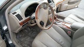 2003 Infiniti q45, silver 4 door, luxury sedan image 7