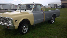 1972 Chevy C10 Pick Up Half Ton 2 Wheel Drive For Parts or Restore