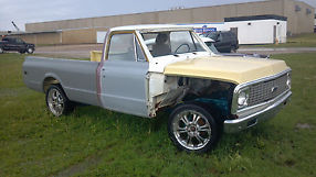 1972 Chevy C10 Pick Up Half Ton 2 Wheel Drive For Parts or Restore image 1