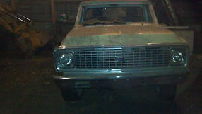 1972 Chevy C10 Pick Up Half Ton 2 Wheel Drive For Parts or Restore image 3