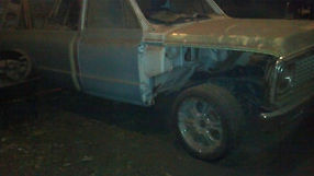 1972 Chevy C10 Pick Up Half Ton 2 Wheel Drive For Parts or Restore image 5