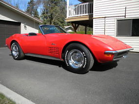1971 Corvette Convertible with Air Conditioning