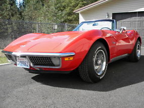 1971 Corvette Convertible with Air Conditioning image 1