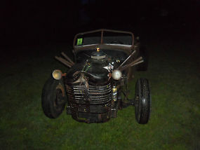 1935 RAT ROD PROJECT TRUCK AWESOME START & READY TO BE FINISHED