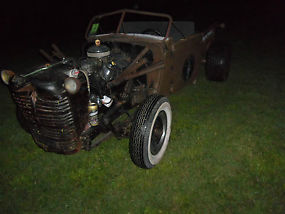 1935 RAT ROD PROJECT TRUCK AWESOME START & READY TO BE FINISHED image 1