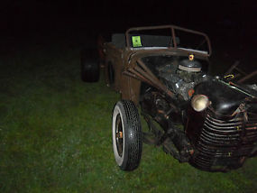 1935 RAT ROD PROJECT TRUCK AWESOME START & READY TO BE FINISHED image 2