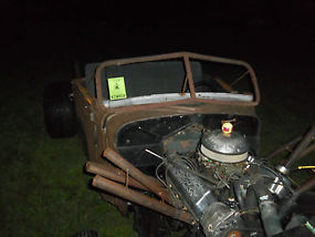 1935 RAT ROD PROJECT TRUCK AWESOME START & READY TO BE FINISHED image 4