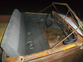 1935 RAT ROD PROJECT TRUCK AWESOME START & READY TO BE FINISHED image 5