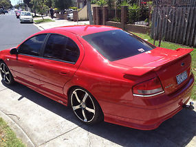 MANUAL 2003 FORD XR8  image 3
