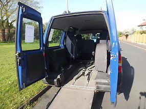 2005 FIAT SCUDO WHEELCHAIR ACCESSIBLE WITH 5 SEATS image 1