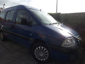 2005 FIAT SCUDO WHEELCHAIR ACCESSIBLE WITH 5 SEATS image 2