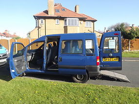 2005 FIAT SCUDO WHEELCHAIR ACCESSIBLE WITH 5 SEATS image 8
