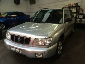 Subaru Forester GT 2002 4D Wagon 5 SP Manual Wagon image 1